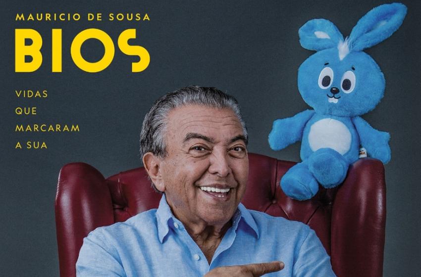 """A magia da Turma da Mônica – """"Bios – Vidas que Marcaram a Sua: Maurício de Souza"""""""