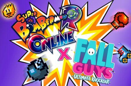 Super Bomberman R Online ganha crossover com Fall Guys