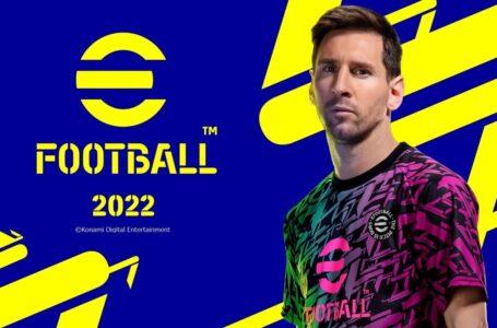 Konami anuncia o eFootball 2022 e conteúdo detalhado do jogo, com lançamento em 30 de setembro