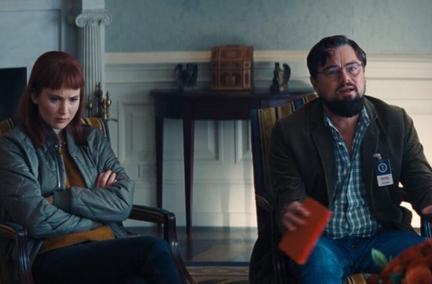 Não Olhe para Cima: Filme estrelado por Leonardo DiCaprio e Jennifer Lawrence ganha teaser